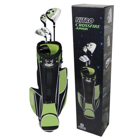 Nitro Golf Crossfire Golf Set Junior 8 Pc (Baby Golf Set)