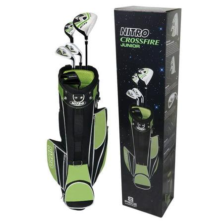 Golf Girl Junior Set (Nitro Golf Crossfire Golf Set Junior 8 Pc)