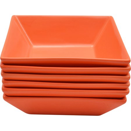 (10 Strawberry Street Nova Square Bowls, Set of 6)