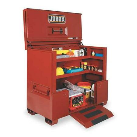 Jobox Jobsite Piano Box, Steel, Brown, 1-683990