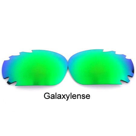 Martini Racing Sunglasses (Galaxy Replacement Lenses For-Oakley Racing Jacket/Jawbone Sunglasses Green Polarized)