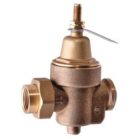 WATTS 1/2 LF N55BUM1 Water Pressure Reducing Valve,1/2