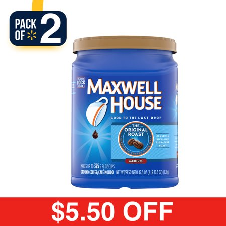 TWO Maxwell House Ground Coffe...