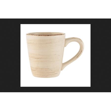 Tag Sonoma Ivory Ironstone Coffee Mug 14 oz.