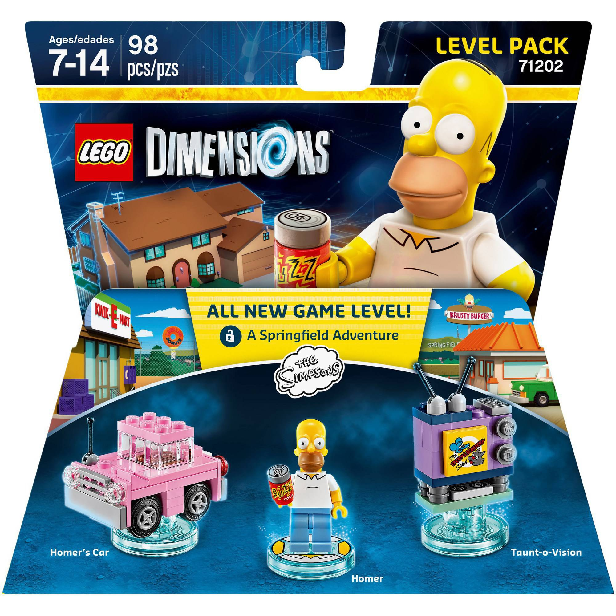 LEGO Dimensions The Simpsons Level Pack (Universal)