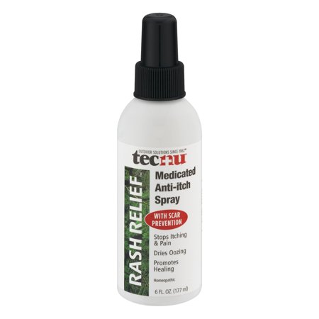 Tecnu Rash Relief Medicated Anti-Itch Spray, 6 fl (Anti Itch Soap)