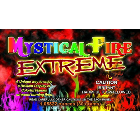 Extreme Mystical Fire Colorful Flames For All Wood Burning Fireplaces 24 Pack