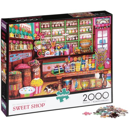 Buffalo™ Two Thousand Piece Puzzle Collection™ Sweet Shop™ Puzzle 2000 pc Box - Adult Puzzles
