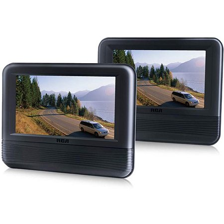 rca 7 dual screen dvd player