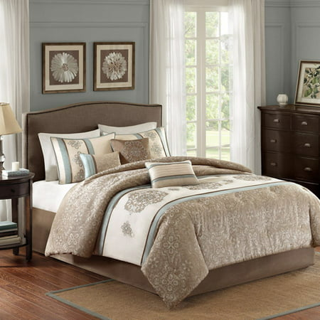Better homes and gardens medallion 7 piece comforter - Better homes and gardens comforter sets ...