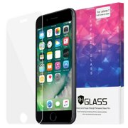 Premium Edge to Edge Full Screen Covered Clear Tempered Glass Screen Protector for Apple iPhone 7 (4.7 Inch) - Clear