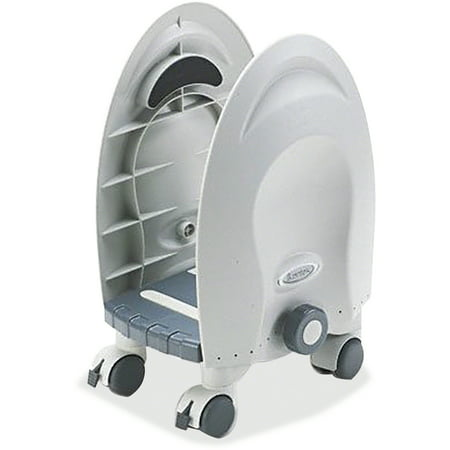 Deluxe Cpu (Kantek Deluxe Adjustable CPU Stand, Gray )