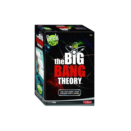 Playroom Entertainment Geek Out! Big Bang Theory Social Party Game - Halloween Music Theory Games