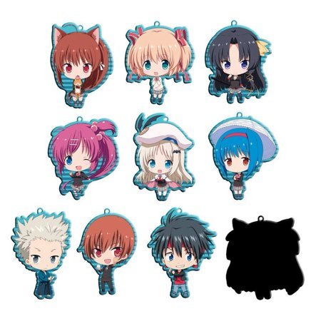 Little Busters! Metal Cellphone Charm ()