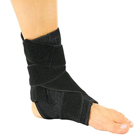 Dr. Wilson Ankle Support Brace - Made from Neoprene Breathable Quality Material - Ideal for Sprained Ankle, Exercise, Running, Pain Relief - with Extra Strong