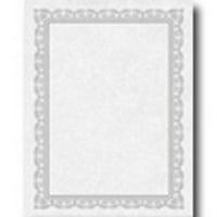 Gartner Studios 74938 Platinum Foil Certificates, 15ct.