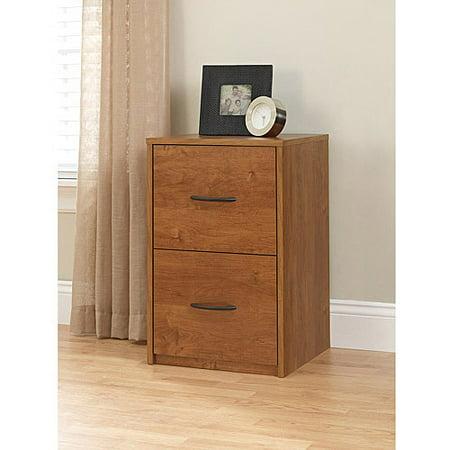(Set of 2) Ameriwood Home Core 2 Drawer File Cabinet, Multiple Colors - Ergonomic File Set