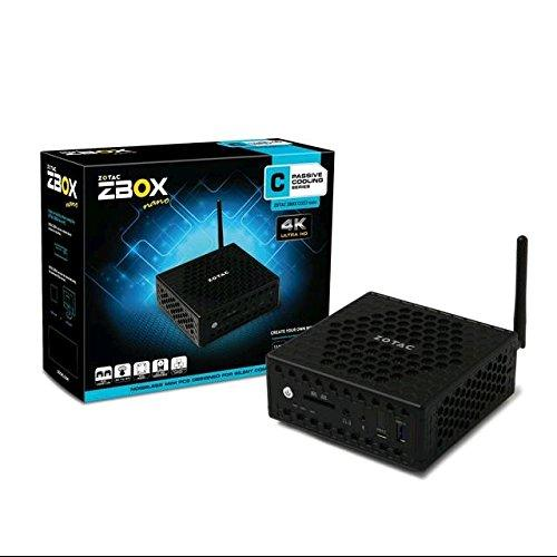 Zotac Zbox Nano C Zbox-ci323nano-u Desktop Computer - Intel Celeron N3150 1.60 Ghz - Mini Pc - Ddr3l Sdram Ram - Intel Hd Graphics - Ddr3l Sdram Graphics - Wireless Lan - Bluetooth (zbox-ci323nano-u)