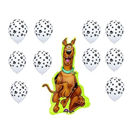 Scooby Doo Party Balloon Decoration Kit by Party Supplies