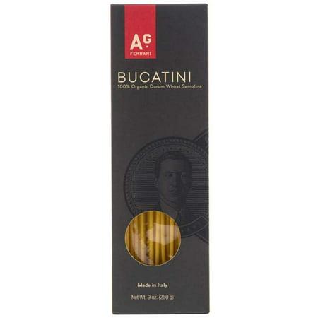 Image of A.G. Ferrari Organic Pasta, Bucatini, 9 Oz