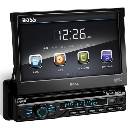 Boss Audio BV9979B Single-DIN DVD/CD Receiver with 7