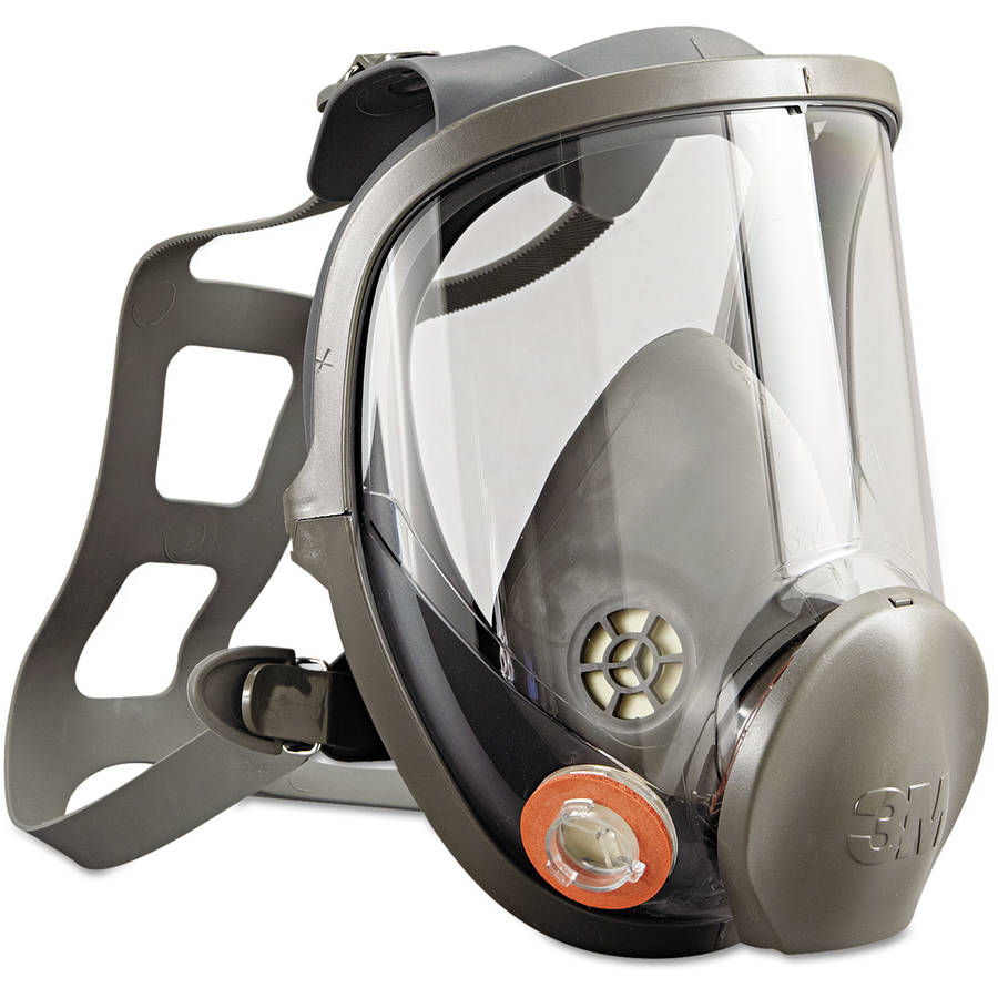 3M Full Facepiece Respirator 6000 Series, Reusable