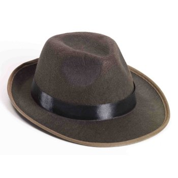 BROWN FEDORA