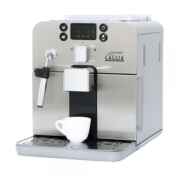 Gaggia Brera Superautomatic Espresso Machine, Silver by