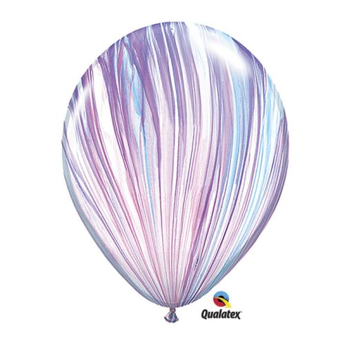 "Burton & Burton 11"" Fashion Superagate Balloons, Pack Of 100"