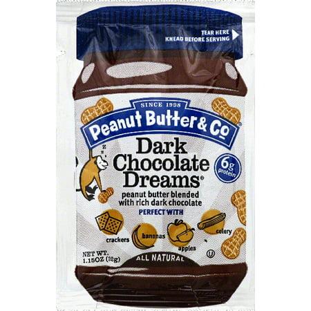 Peanut Butter & Co. Dark Chocolate Dreams Peanut Butter, 1.15