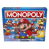 Monopoly Super Mario Celebration Edition Board Game for Ages 8+