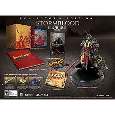 Square Enix final fantasy xiv: stormblood collector's edi...