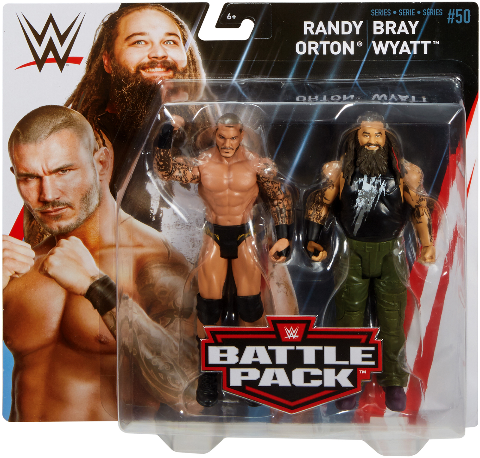 Randy Orton & Bray Wyatt - WWE Battle Packs 50 Toy Wrestling Action Figures