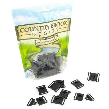 Release Buckle - Country Brook Design® 3/4 Inch Breakaway Center Release Plastic Buckle