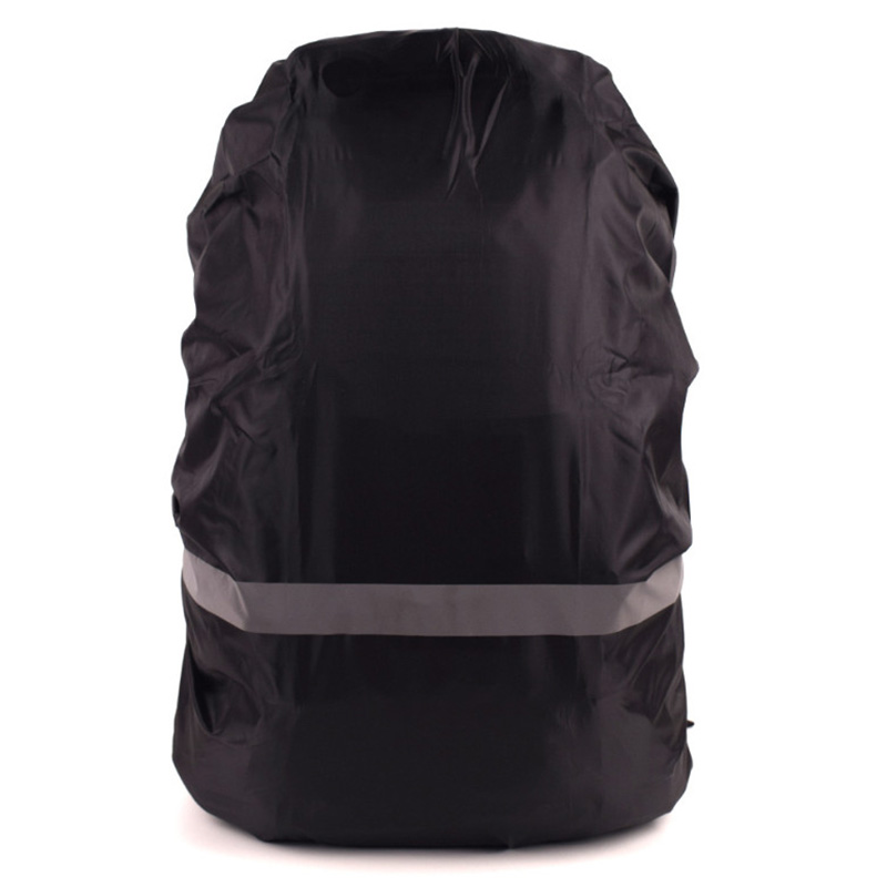 Camping Hiking Bag Raincoat Reflective  Backpack Rain Cover Waterproof Fabrics