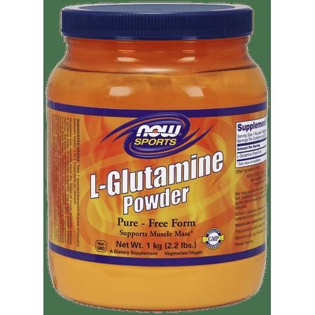 NOW L-Glutamine Powder, 200 (Ultimate Nutrition Glutamine Powder)