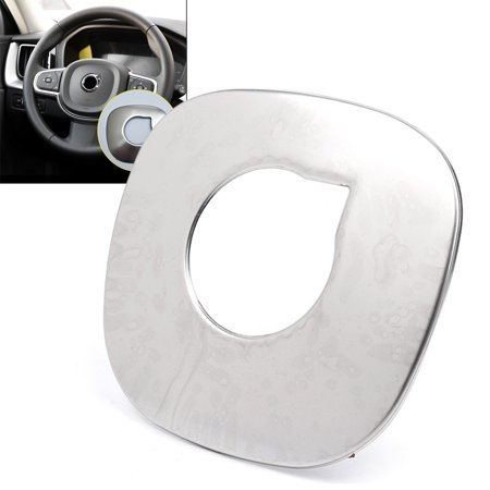GZYF 1PC Stainless steel Interior Steering Wheel Cover Trim For Volvo XC60 2th generation 2018 2019/ XC90