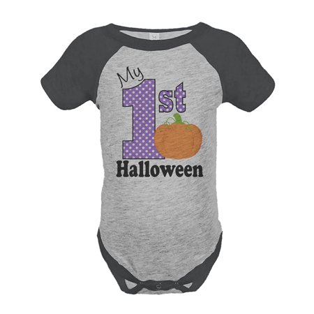 Custom Party Shop Baby's My 1st Halloween Onepiece - 12 Month (Baby's First Halloween Party Ideas)