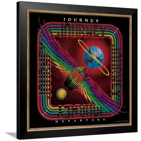 Journey Framed - Journey - Departure, 1980 Framed Poster Wall Art