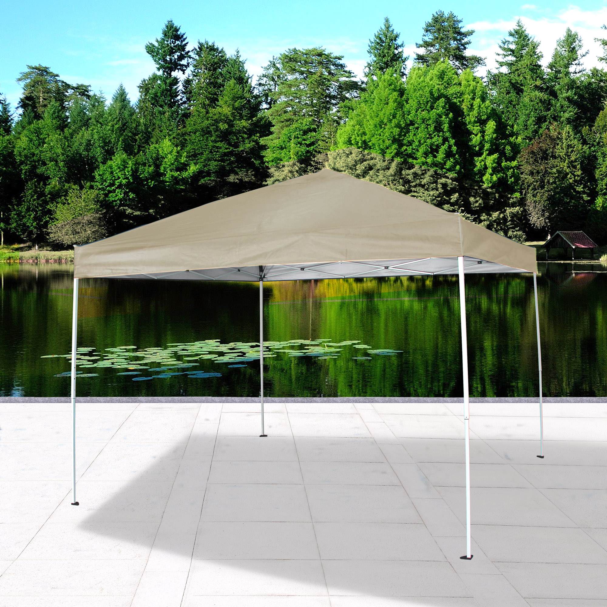 Cloud Mountain Pop Up Canopy Tent 10' x 10' UV Coated Outdoor Garden Gazebo Tent Easy Set Up with Carry Bag by Cloud Mountain