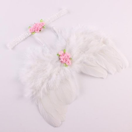 Angel Wings For Babies (Outtop Baby Angel Feather Wings Wing Feather Photo Prop Girls Hair)