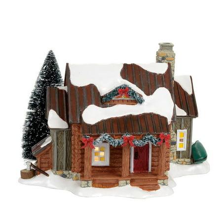 Dept 56 Snow Village 4056683 Woody Retreat ()