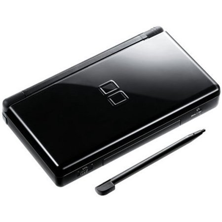Refurbished Nintendo DS Lite Onyx Black Handheld Gaming Console Stylus and (Best Handheld Gaming Device)