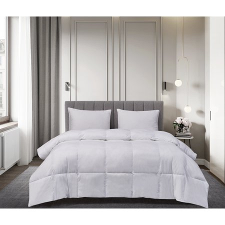 Royal Luxe / White Goose Down & Feather Comforter - Twin