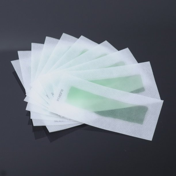 10pcs Lot Double Side Use Roll On Hair Remover Wax Strips