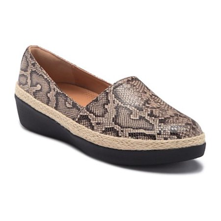 669e9325a24 FitFlop - FitFlop Womens Casa Leather Loafer - Walmart.com