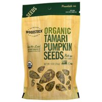 Woodstock Organic Vegan Tamari Pumpkin Seeds, 9 Oz