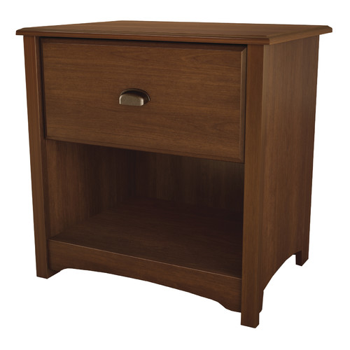 South Shore Willow 1-Drawer Nightstand, Multiple Finishes
