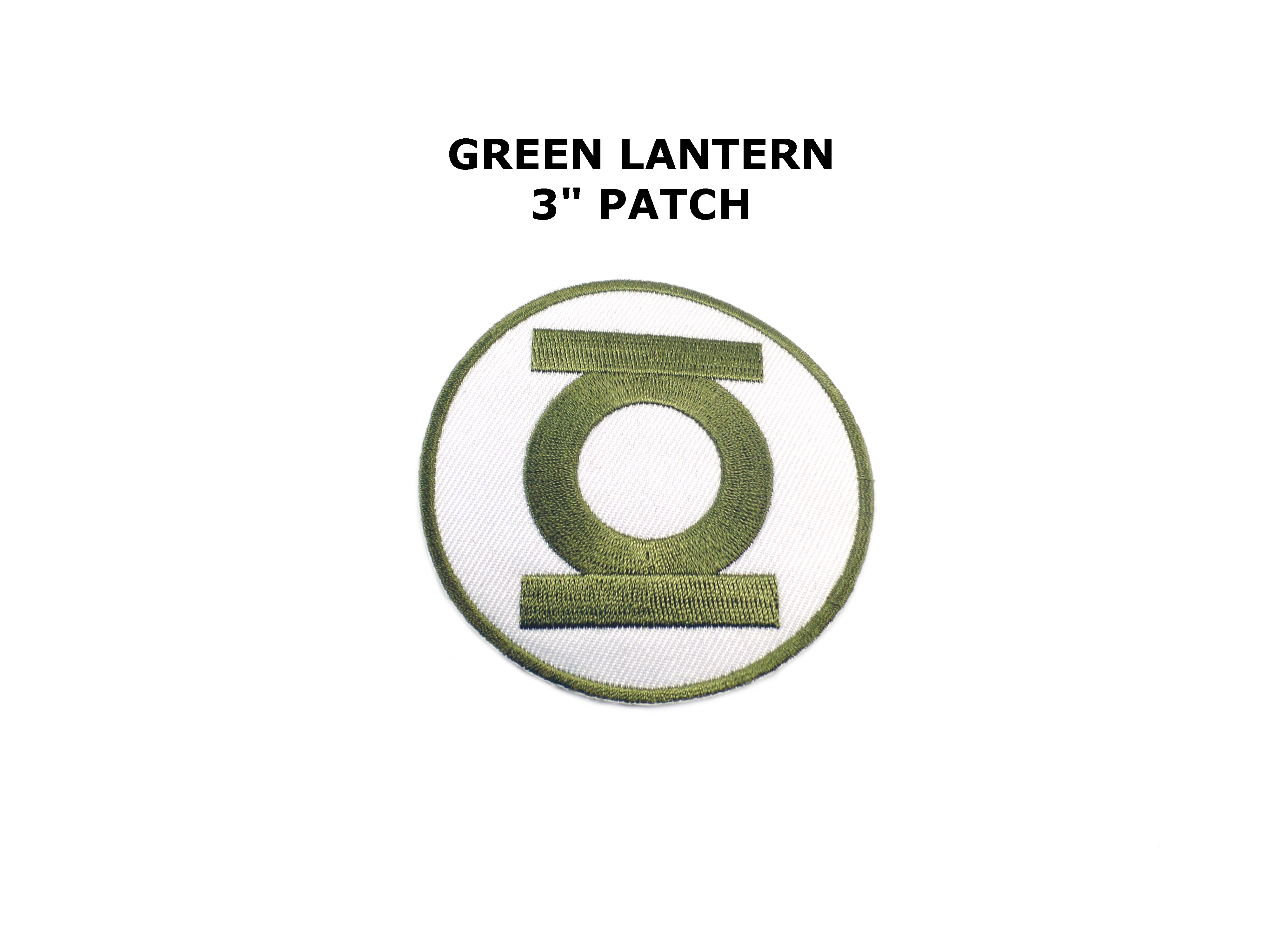 Green lantern Superhero Movie Embroidered Iron-on Patch Backpack T-Shirt Badge