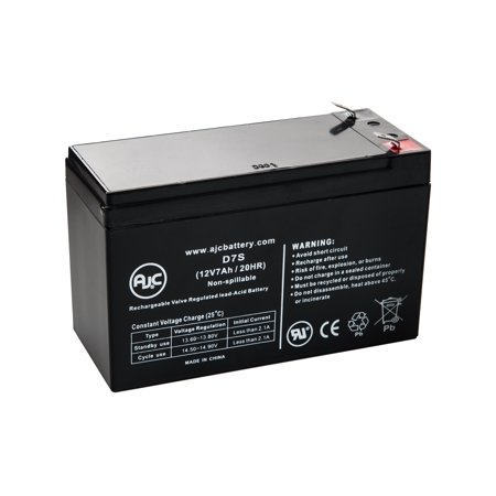 MIGHTY MULE GATE OPENER REPLACEMENT BATTERY 12V 7Ah Battery - This is an AJC Brand Replacement ()
